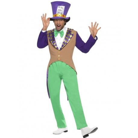 Disfraz De Sombrerero Loco