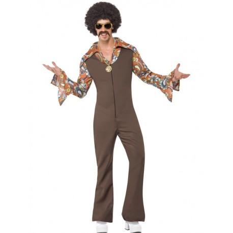 Disfraz De Hombre Marchoso Hippie