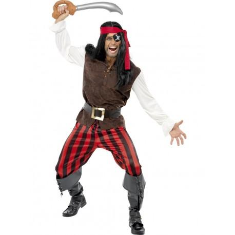 Disfraz De Corsario Pirata