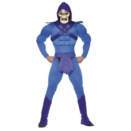 He-Man Skeletor Blue Outfit