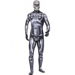 Disfraz de Esqueleto Interno de Terminator (Licensed)