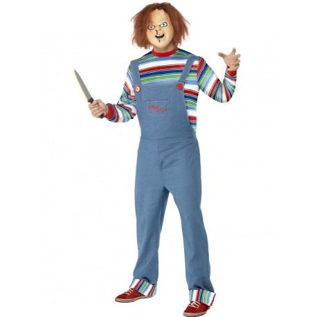 Disfraz De Chucky Para Hombre Original (Licensed)