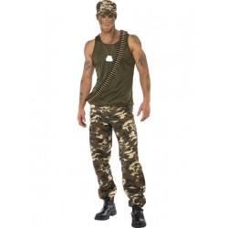 Disfraz De Soldado De Comando