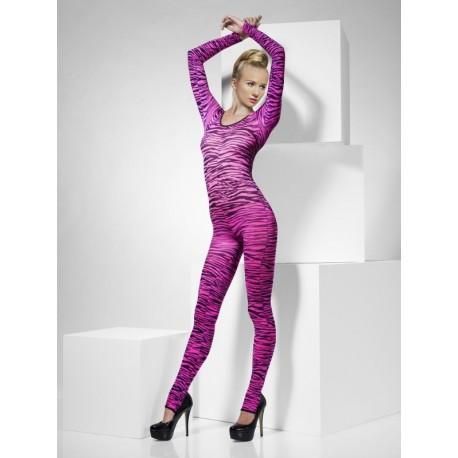 Disfraz de Zebra ajustado y rosa