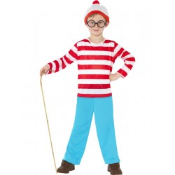 Disfraz Infantil de ¿Dónde está Wally? (Oficial)