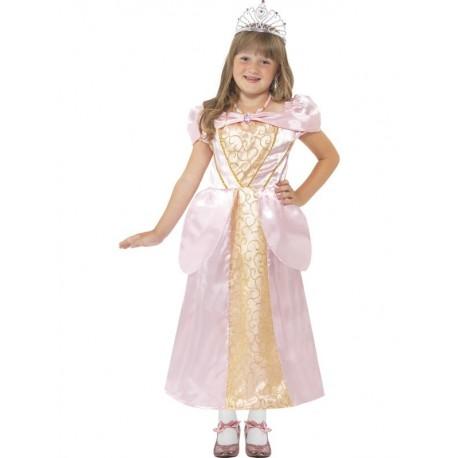 Disfraz De Princesa Durmiente Rosa Infantil