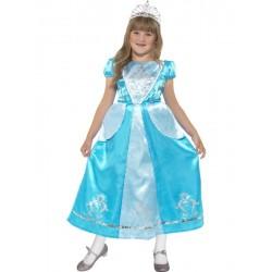 Disfraz De Princesa Helada Infantil