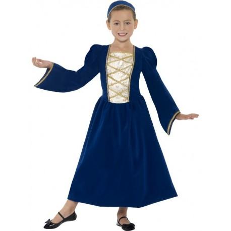 Disfraz De Princesa Azul Imperial Infantil