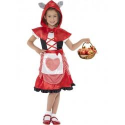 Disfraz De Caperuza Roja Infantil
