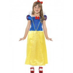 Disfraz De Blanca Nieva Infantil