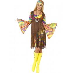 Disfraz de Mujer Hippie y Groovy