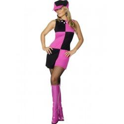 Disfraz de Chica Groovy Guatequera