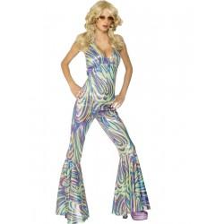 Disco Dancing Queen Multicolorida Estilo Abba