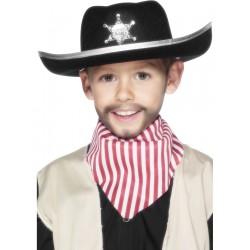 Sombrero Negro De Sheriff Infantil