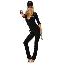 Disfraz de Agente del FBI Sexy
