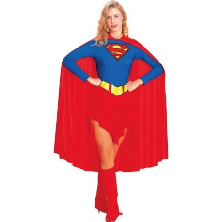 Disfraz de super héroe Super-mujer
