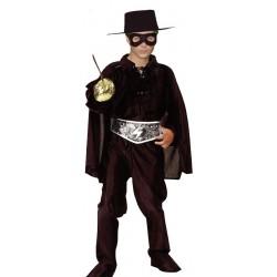 """Disfraz Infantil de Bandido estilo """"El Zorro"""""""