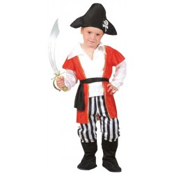 Disfraz de Capitán Pirata Infantil