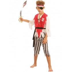 Disfraz de Pirata Feroz Infantil