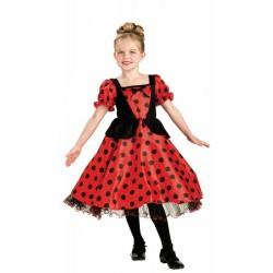 Disfraz de Bailarina de Sevillanas Flamencas Infantil