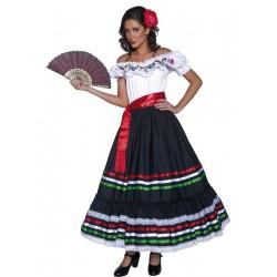 Disfraz de Bailarina Mejicana Tradicional
