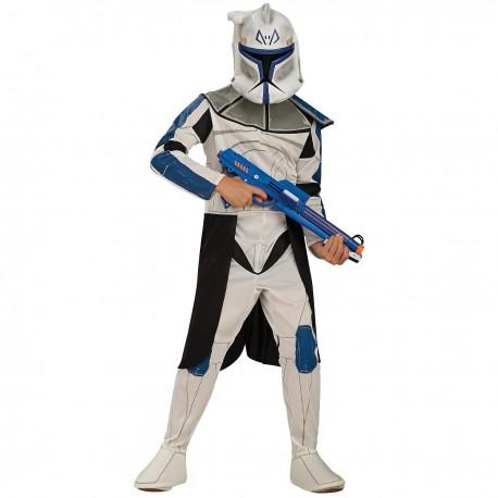 Disfraz de Clone Trooper Rex deluxe para Niño en Caja