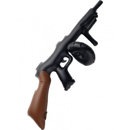 Pistola Inflable Tommy de Gangster