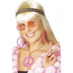 Kit de Complementos para Disfraz de Hippie