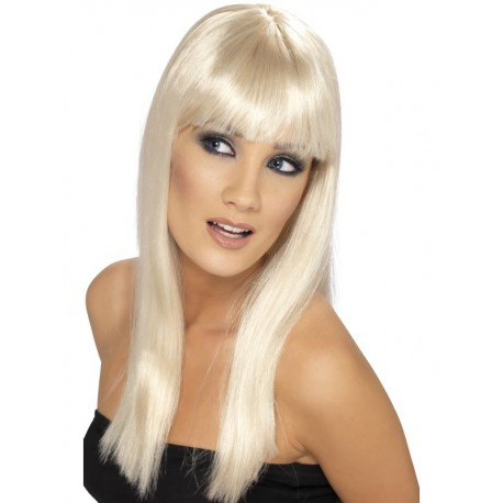 Peluca Rubia Lisa Glamour