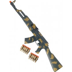 Rifle Ak47 Comando Kalashnikov 70cm
