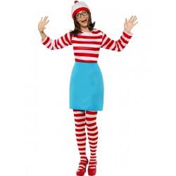 Disfraz de Wenda de Where's Wally Oficial (Licensed)