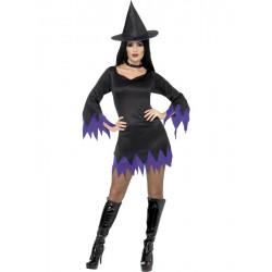 Disfraz de Bruja Sexy Violeta