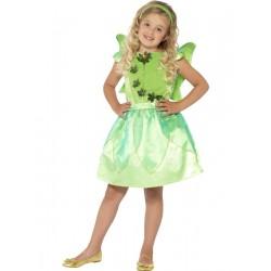 Disfraz De Hada Del Bosque Verde Infantil