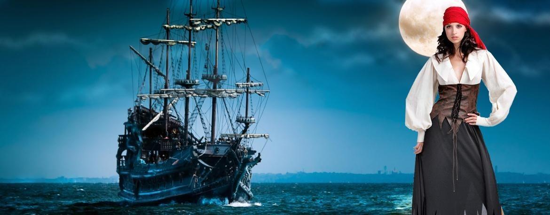 Disfraces de piratas!